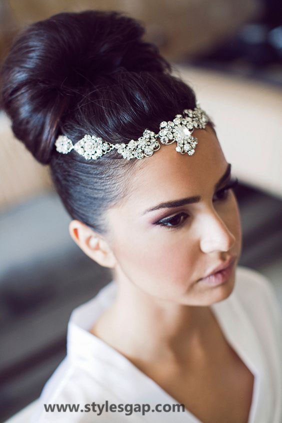 Beautiful Latest Eid Hairstyles Collection 2017-2018 For Women