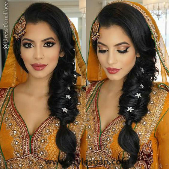 Best-Latest-Eid-Hairstyles-2016-2017-for