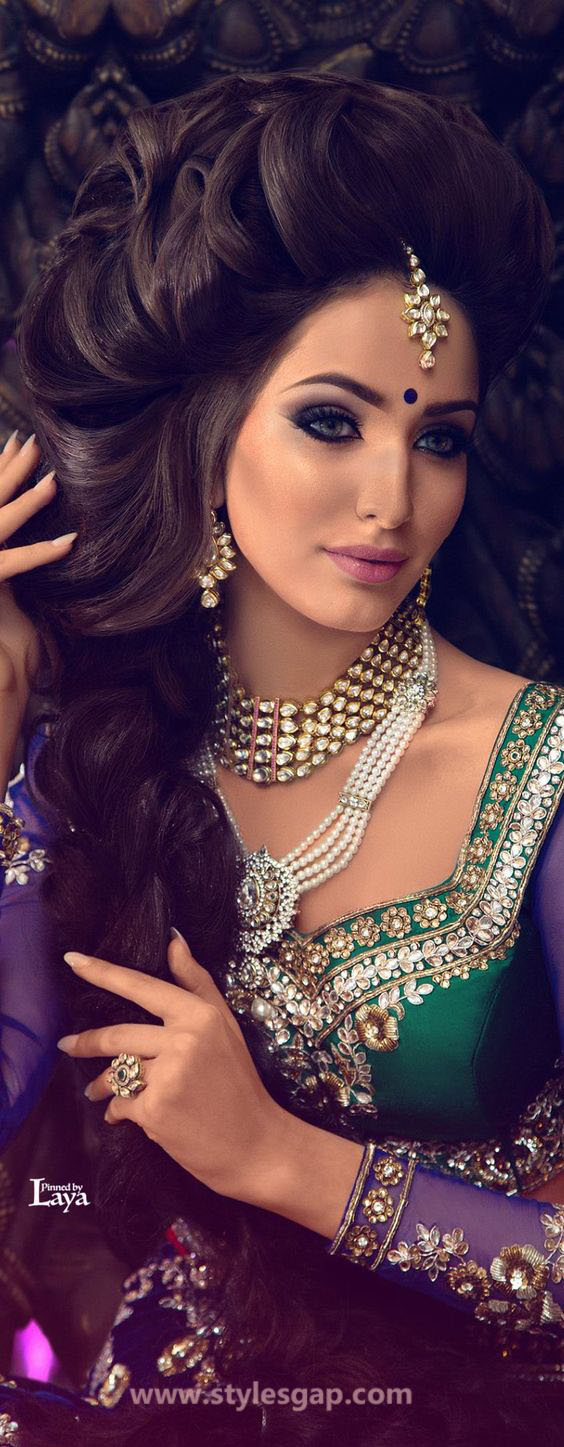 Beautiful Latest Eid Hairstyles Collection 2019 2020 For Women