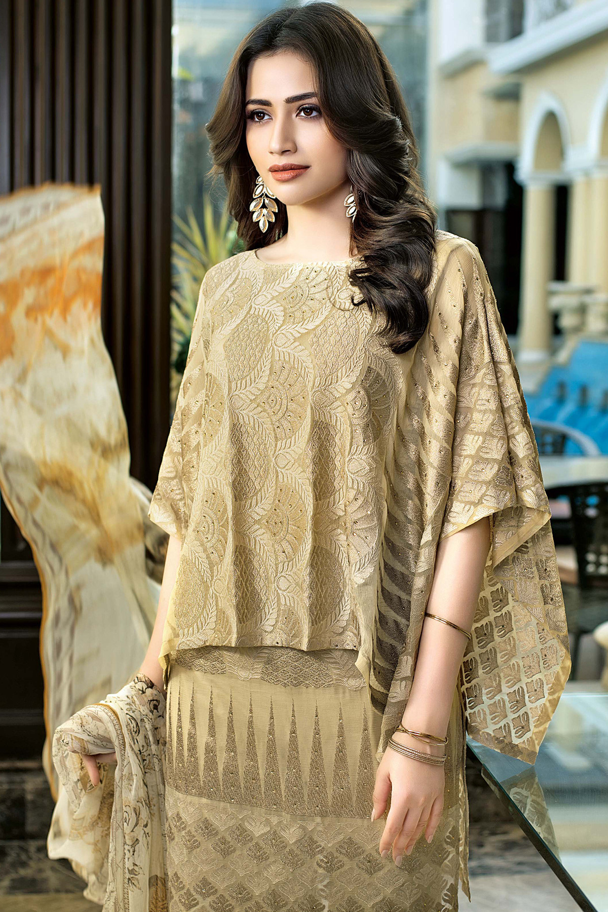 Gul Ahmed Festive Eid Collection Lawn Silk