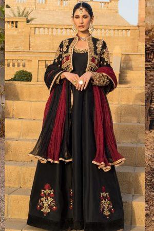 Indian Jacket Style Dresses Koti Anarkali Suits