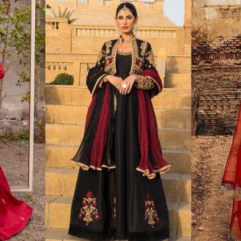 Indian Jacket Style Dresses Koti Anarkali Suits 2021-22 Collection