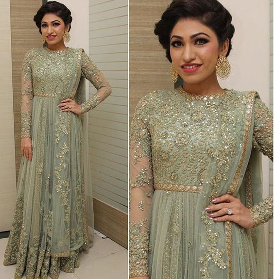 Indian Pakistani Bridal Anarkali Suits & Gowns Collection (20)