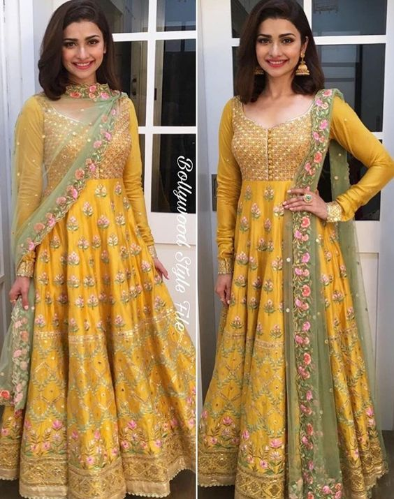 Indian Pakistani Bridal Anarkali Suits & Gowns Collection (7)