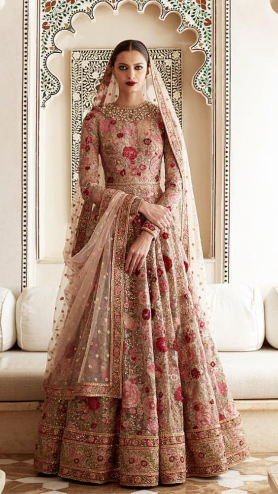 Indian Pakistani Bridal Anarkali Suits Gowns Collection 2018 2019