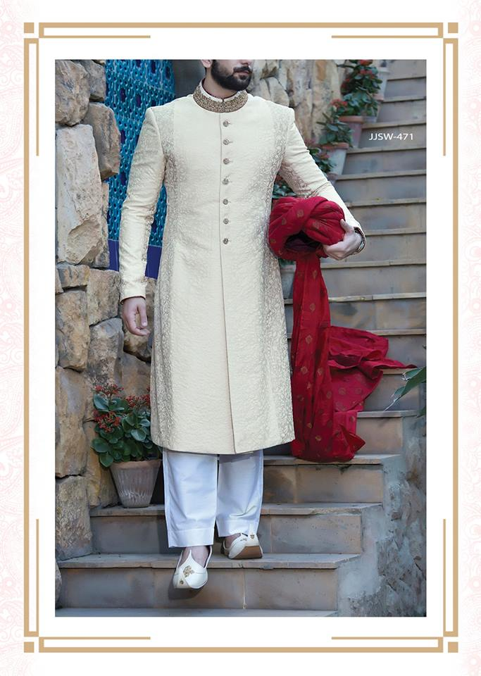 J. Latest Men Sherwanis Designs 2018-19 Groom Wedding ...