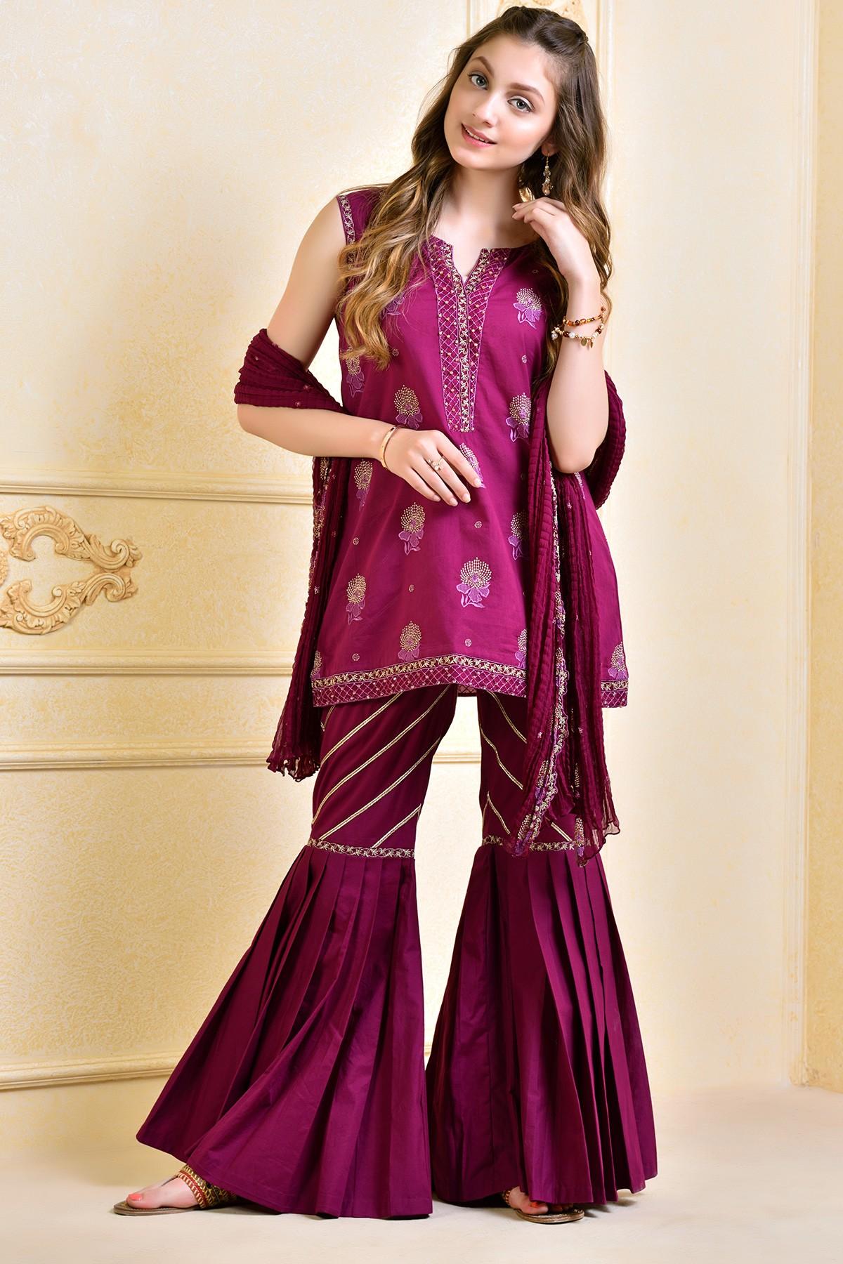 Kayseria Beautiful Fancy Eid Dresses Collection 2017-2018 (14)
