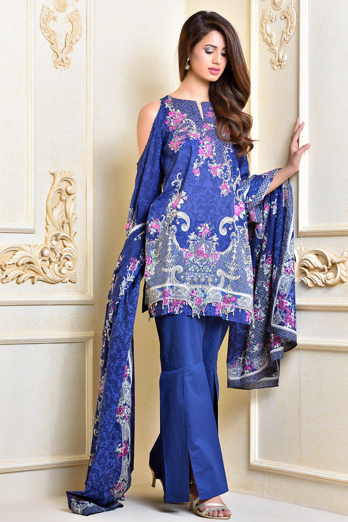 kayseria beautiful fancy eid dresses collection 2017 2018