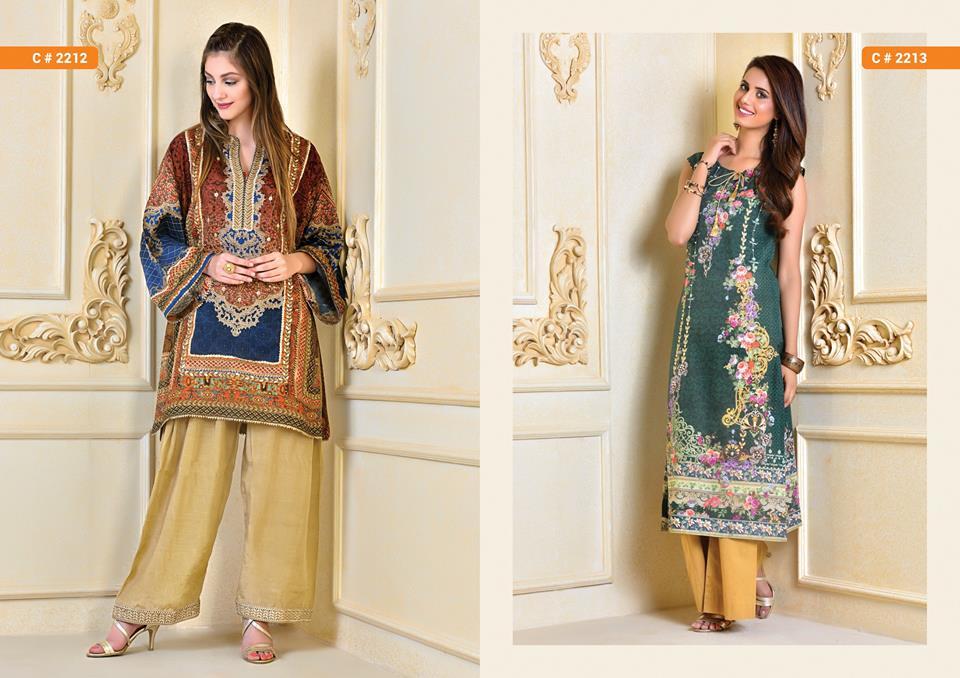 Kayseria Beautiful Fancy Eid Dresses Collection 2017-2018 (7)