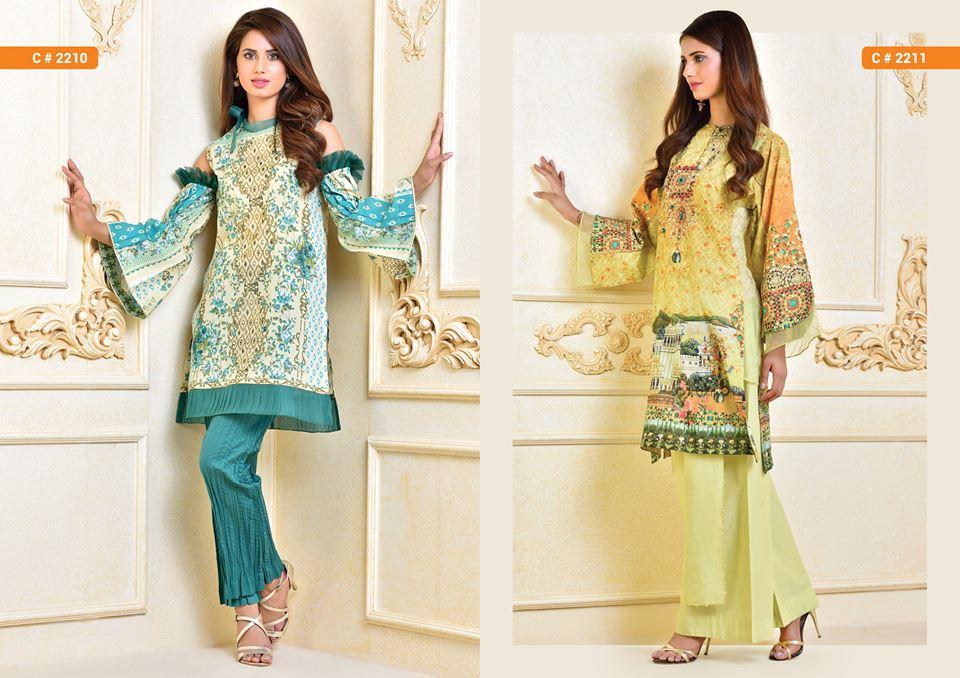 Kayseria Beautiful Fancy Eid Dresses Collection 2017-2018 (8)