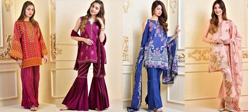 Kayseria Beautiful Fancy Eid Dresses Collection 2017-2018