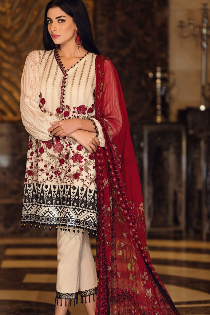 345bda7294 Make your events more fashionable by wearing Khaadi. Have a look at  theKhaadi Lawn Chiffon Eid Dresses below and get inspired by the latest  designs!