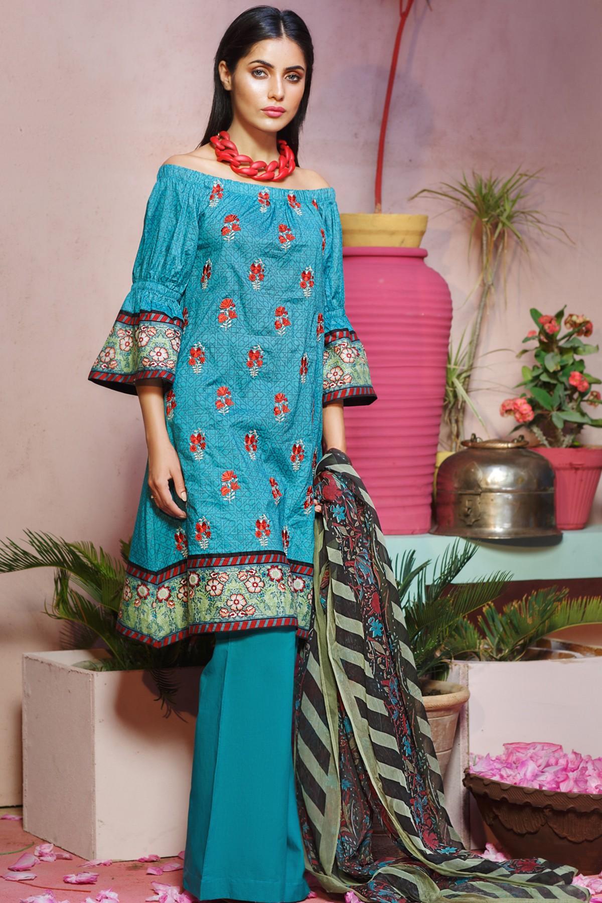 Khaadi Lawn Chiffon Eid Dresses Designs Collection 2017 2018
