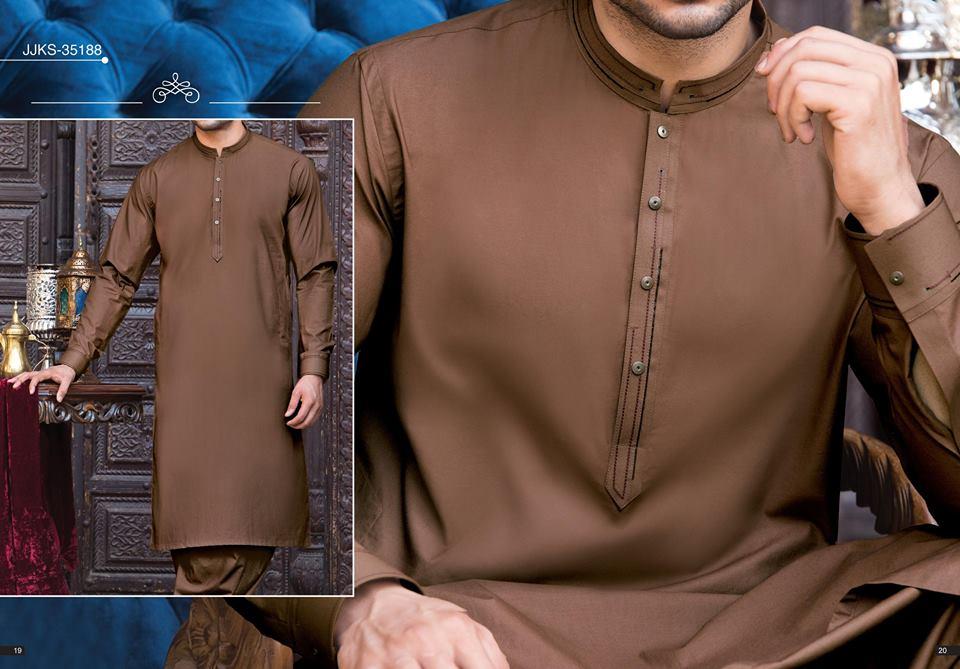 Latest J Eid Kurta Shalwar Kameez Designs Collection 2018 2019