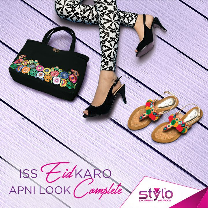 Latest Ladies Footwear Designs Stylo Shoes Eid Collection 2017-2018 (1)