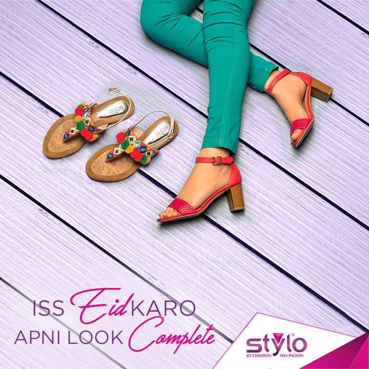 Latest Ladies Footwear Designs Stylo Shoes Eid Collection 2017-2018 (2)