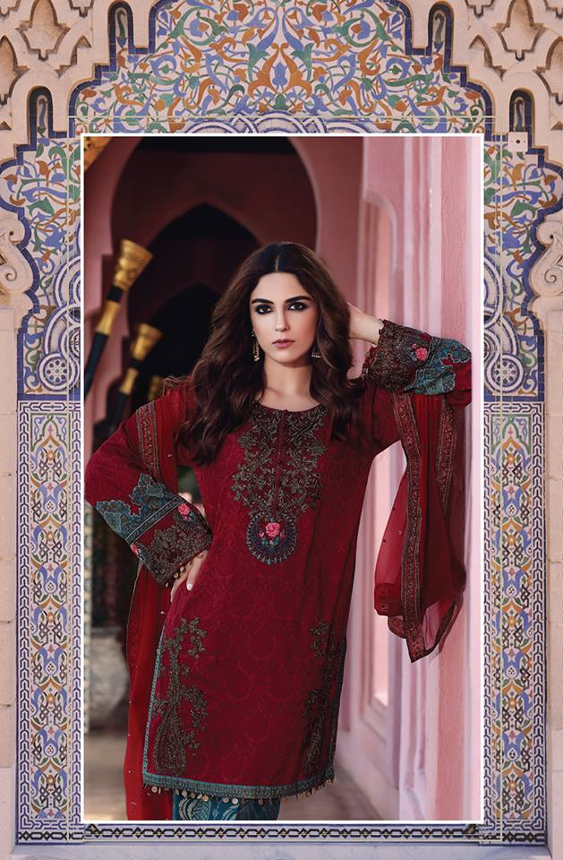 Latest Maria B Eid Lawn Dresses Designs Collection 2017 2018