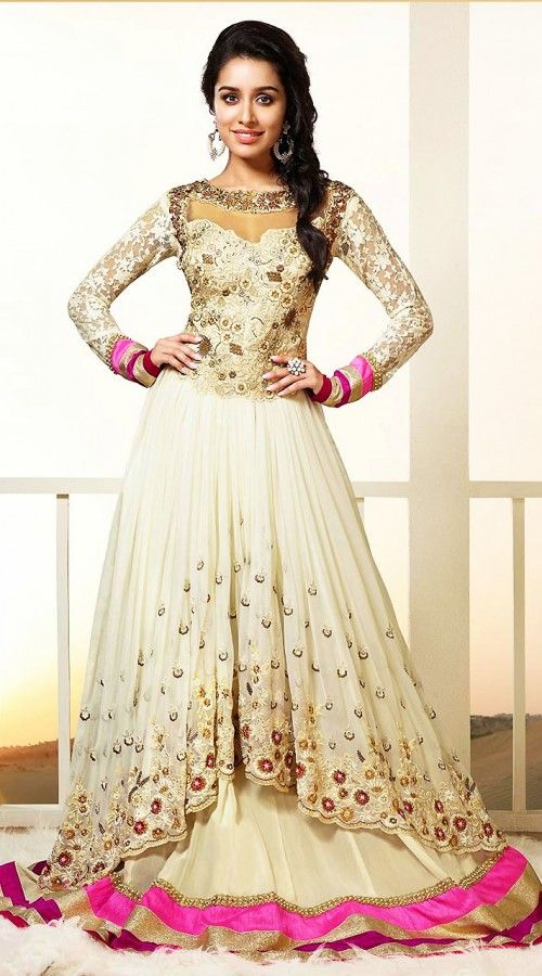 2bde2cb1715c Maxi Style Anarkali Dresses Collection Frock Designs 2018-2019