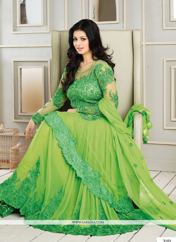 6c0491b428 Maxi dress is a trend among ladies of entire world varying in designs from  place to place, culture to culture. Anarkali dress in maxi style is another  ...