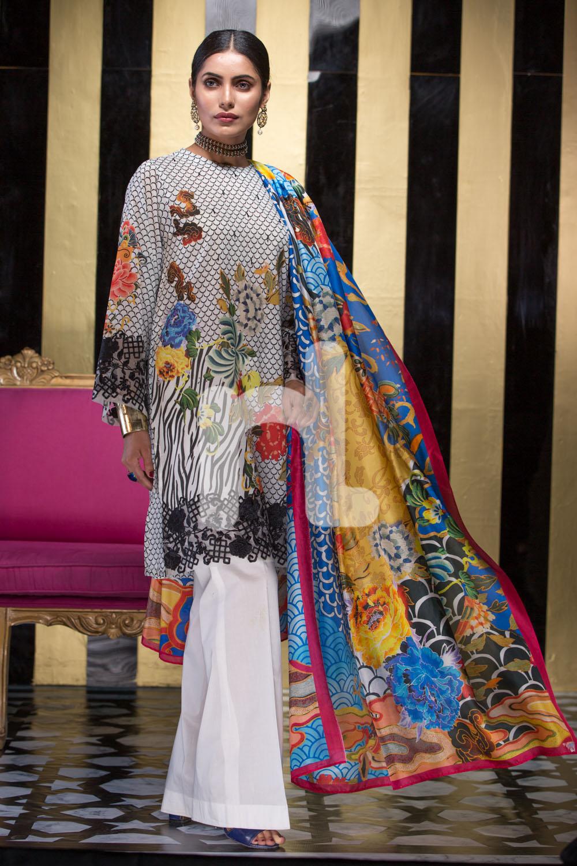 Nishat Linen Latest Eid Luxury Suits Collection 2017 2018