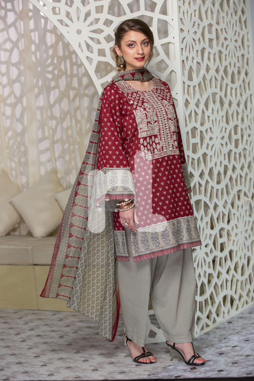 e341d3effe Nishat Linen Latest Eid Luxury Suits Collection 2017-2018 (19 ...