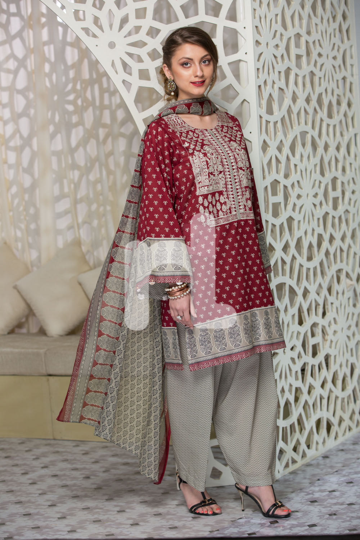 Nishat Linen Latest Eid Luxury Suits Collection 2017-2018