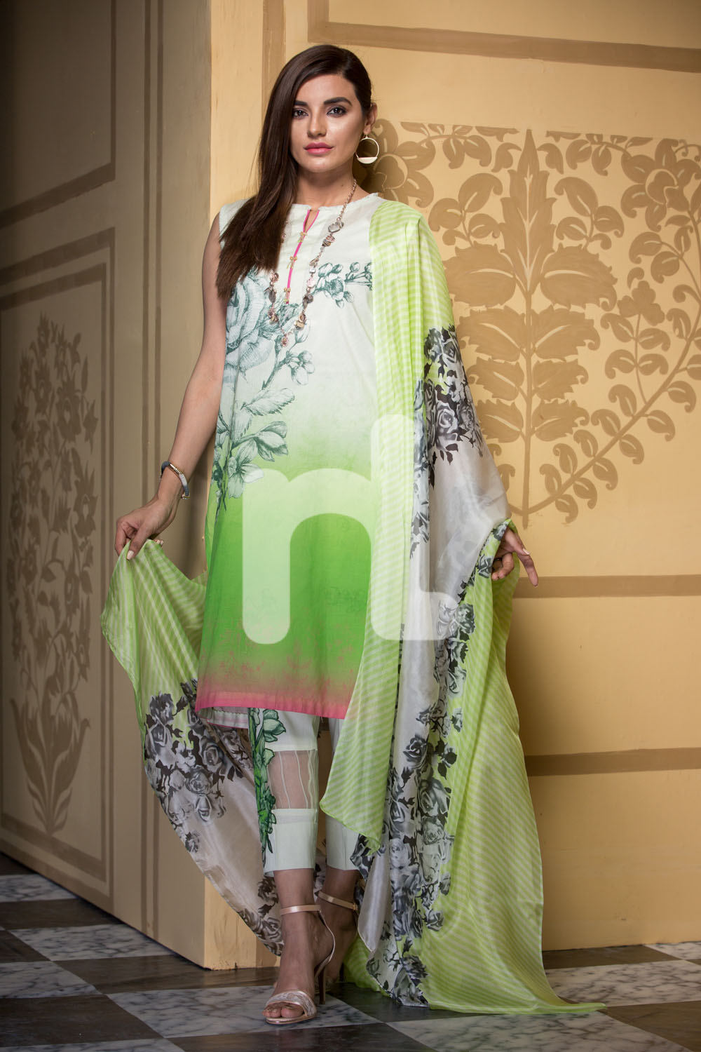 Nishat Linen Latest Eid Luxury Suits Collection 2017 2018