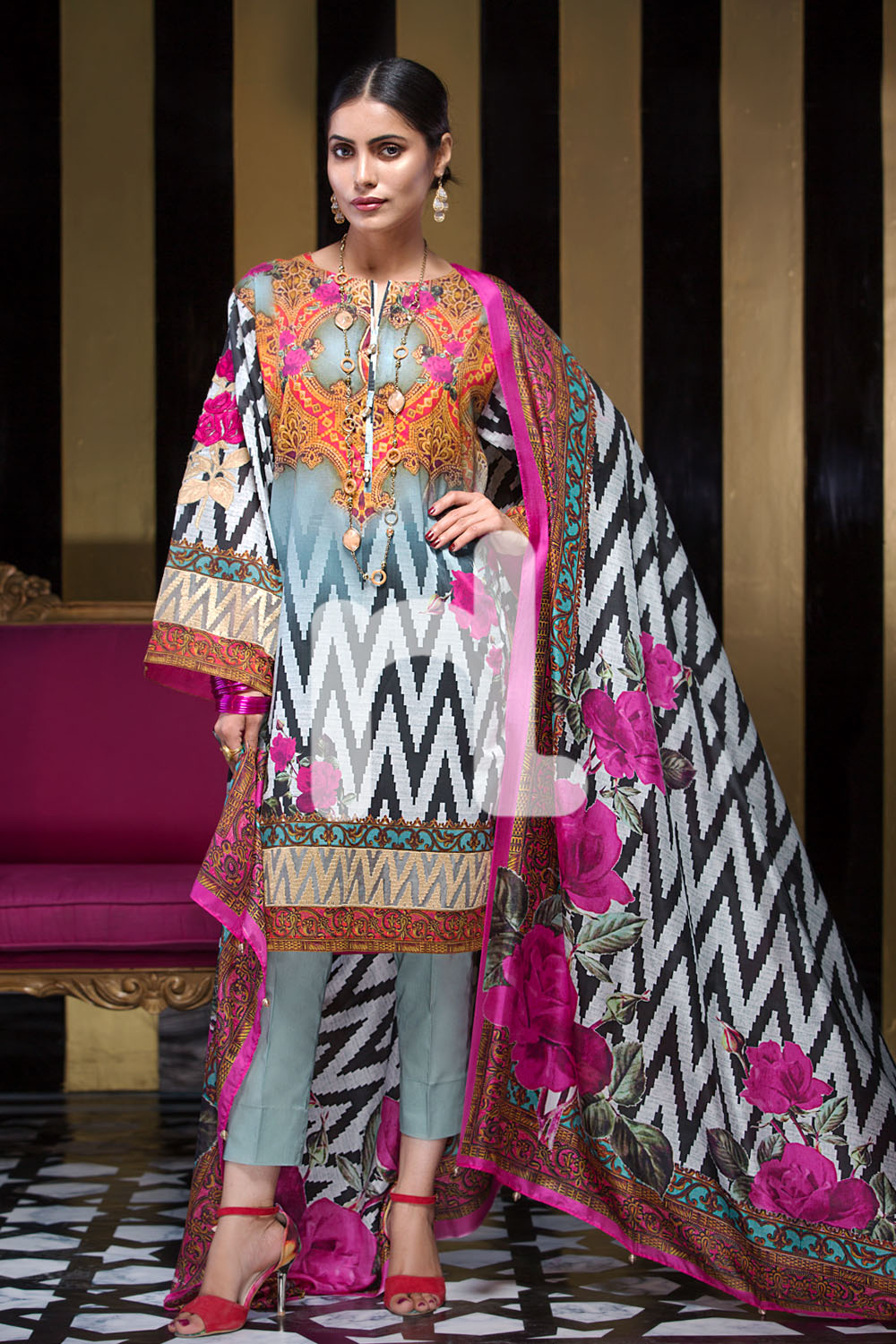 A Collection Of The Most: Nishat Linen Latest Eid Luxury Suits Collection 2017-2018