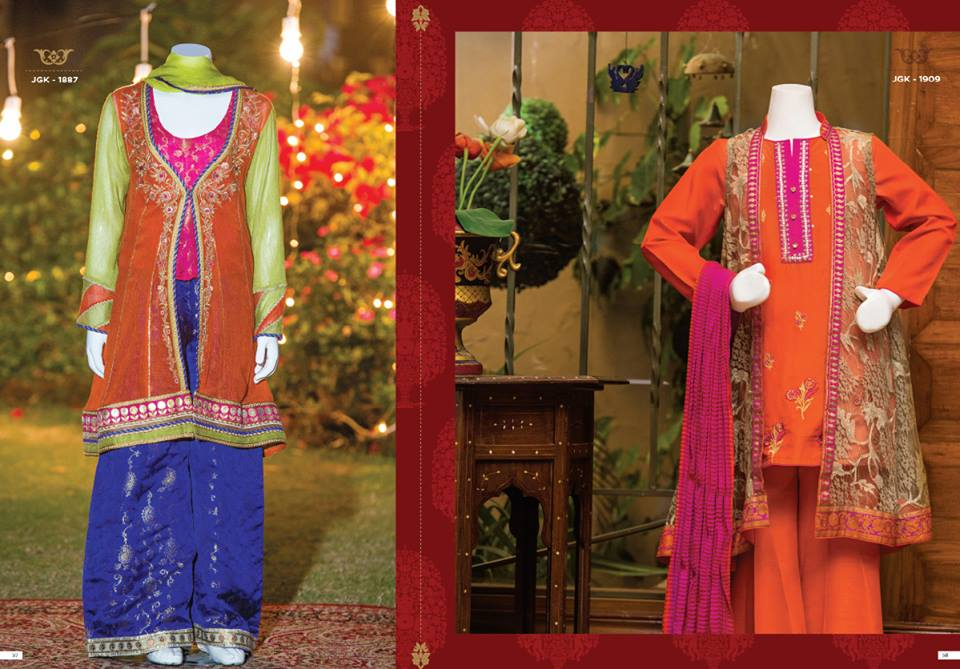Junaid Jamshed Eid Dresses For Women Girls Festive 2017 18