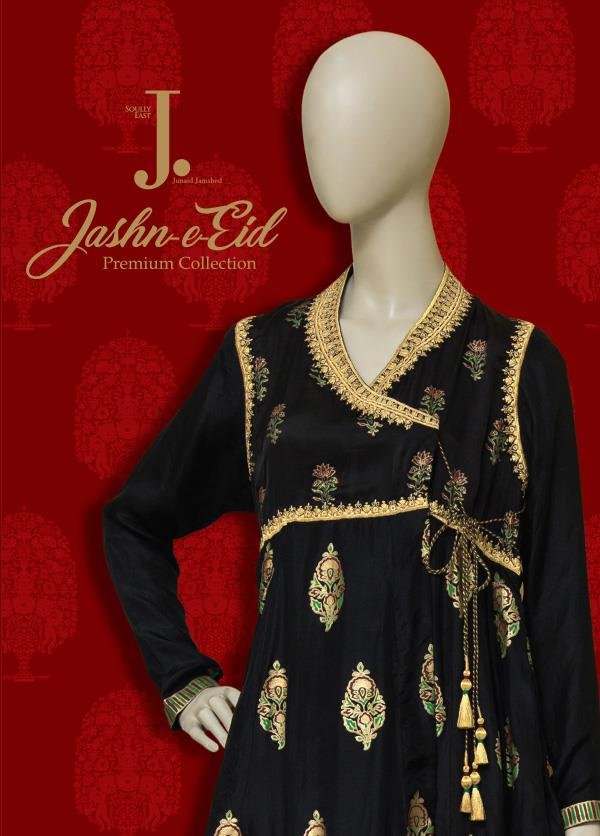 junaid jamshed eid dresses for women girls festive 201718
