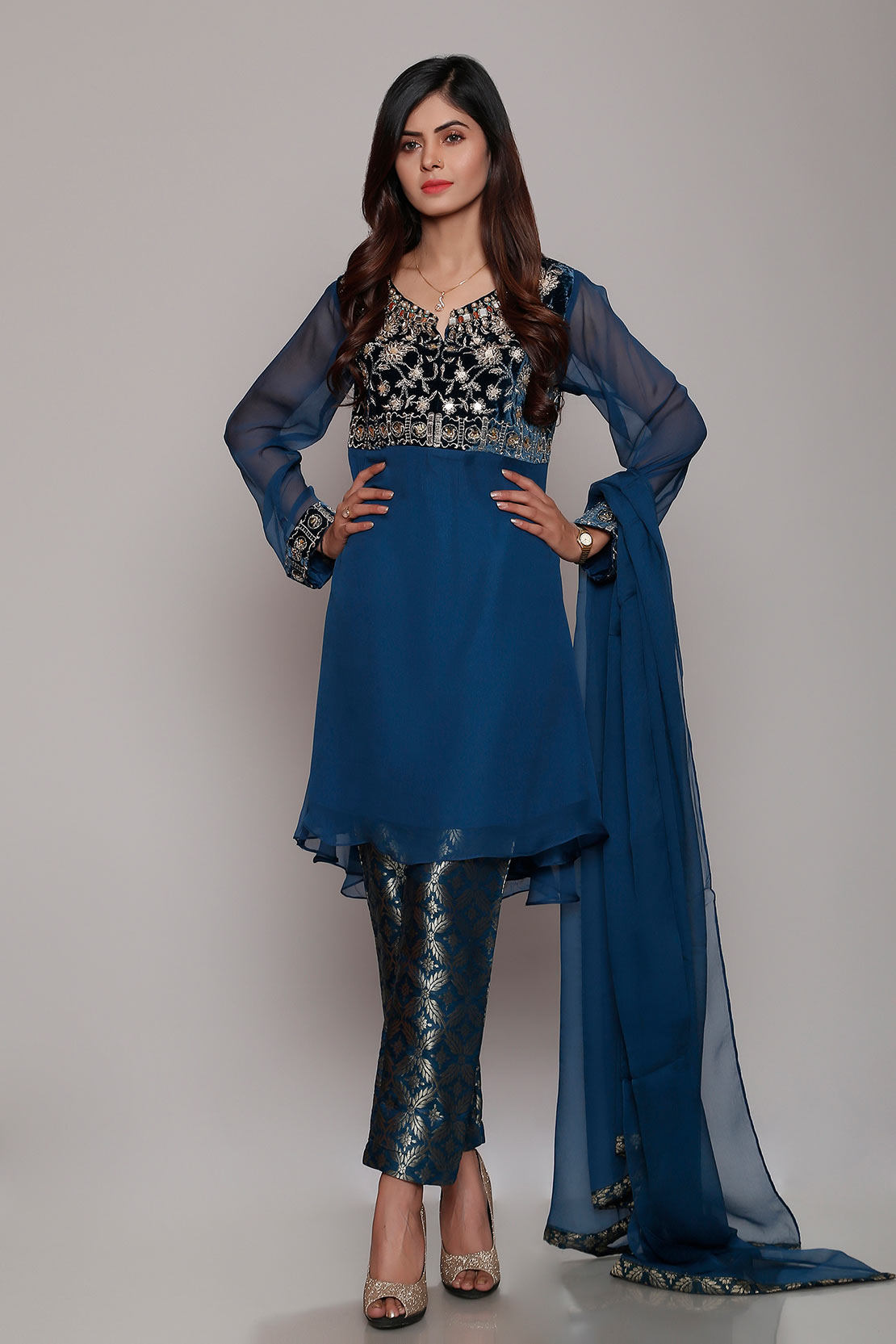 Chinyere Latest Party Wear Dresses Collection 2018 for Women