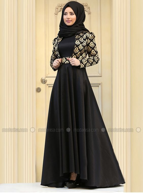 9094e4b9cb4 Fancy Lace Embroidered Abaya Designs Latest Collection 2018-2019 (15 ...