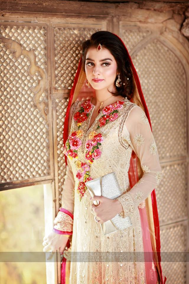 nikkah day bridal wedding dresses designs 2017 2018 collection