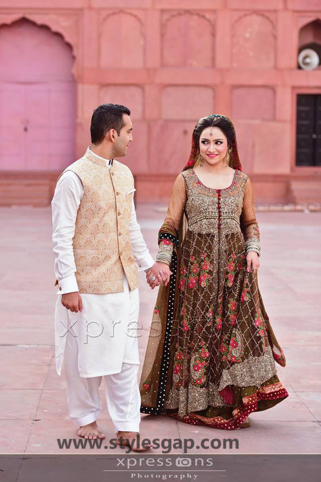 Nikkah Day Bridal Wedding Dresses Designs 30 Stylesgap Com