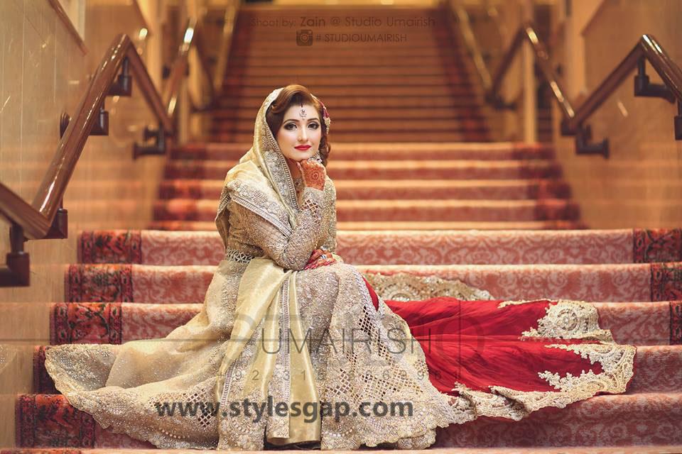 Nikkah Day Bridal Wedding Dresses Designs 2019-2020 Collection