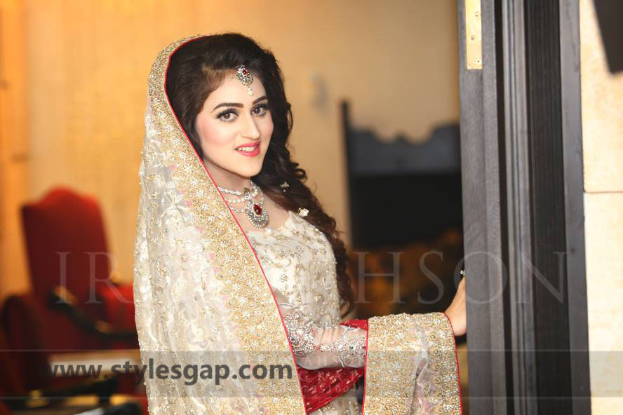 Nikkah Day Bridal Wedding Dresses Designs. (33)