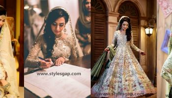 Nikkah Day Bridal Wedding Dresses Designs.