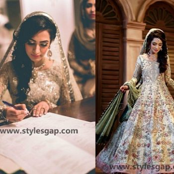 Nikkah Day Bridal Wedding Dresses Designs Collection 2021-2022