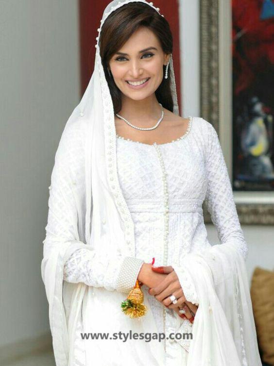 Nikkah Day Bridal Wedding Dresses Designs 2019 2020 Collection