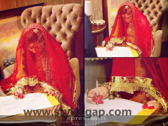 Nikkah Day Bridal Wedding Dresses Designs. (9)