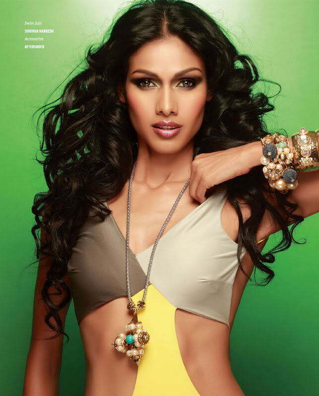 Top Ten Leading & Most Popular Female Indian Fashion Models- Super Models of India (7)