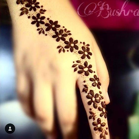 Small Flower Mehndi Designs : Eid ul azha special mehndi designs  collection
