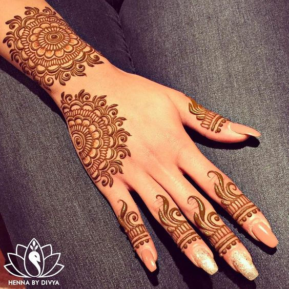 Mehndi For Image : Eid ul azha special mehndi designs trends  collection