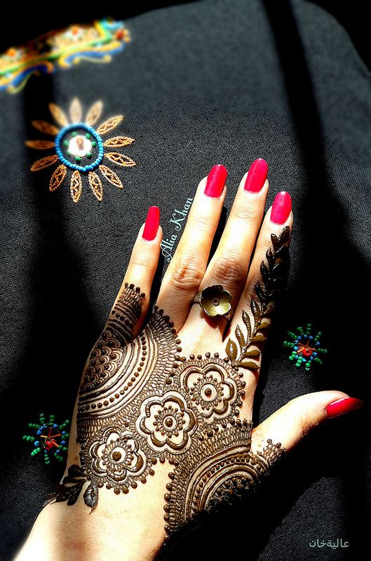 Mehndi Hands Dps : Eid ul azha special mehndi designs trends  collection