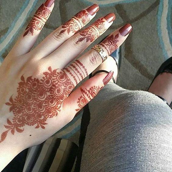 Hand Mehndi Tips : How to make mehndi darker long lasting tips ideas