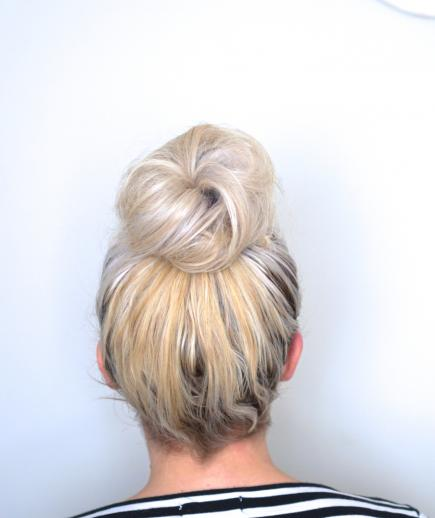 Latest Top Knot Hairstyles Trends & Styles- (1)