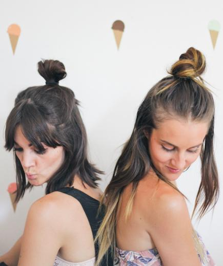 Latest Top Knot Hairstyles Trends & Styles- (14)