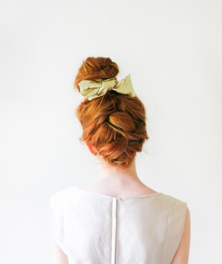 Latest Top Knot Hairstyles Trends & Styles- (3)