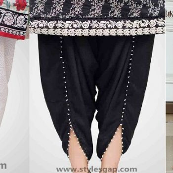 Types & Styles of Tulip Pants Latest Trends 2018-2019 in Pakistan