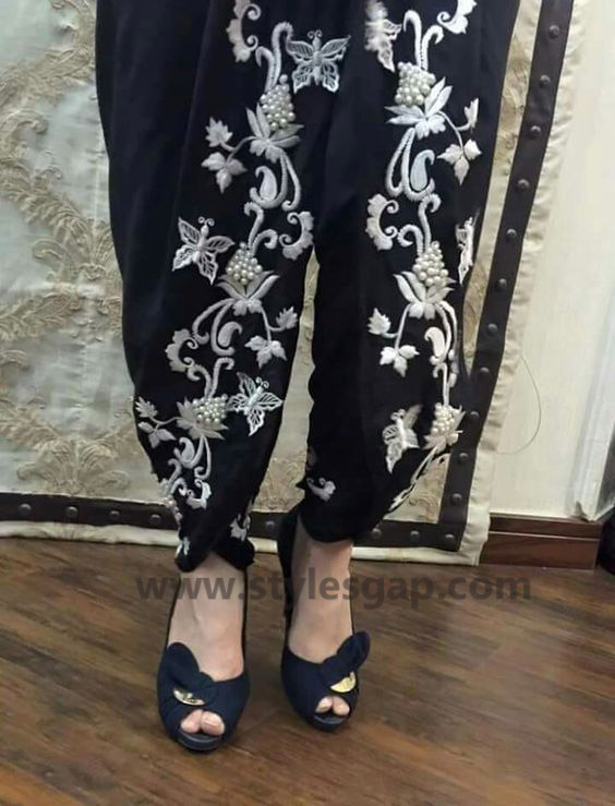 Types & Styles of Tulip Pants Latest Trends 2016 in Pakistan (3)